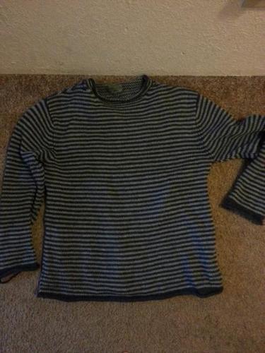MANY - Shirts, plaid, wool sweater, polyester, zigzag T
