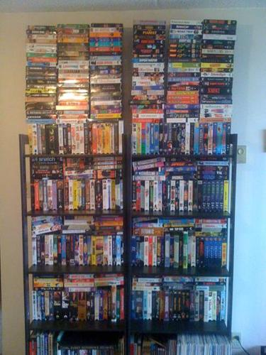 MASSIVE VHS COLLECTION!
