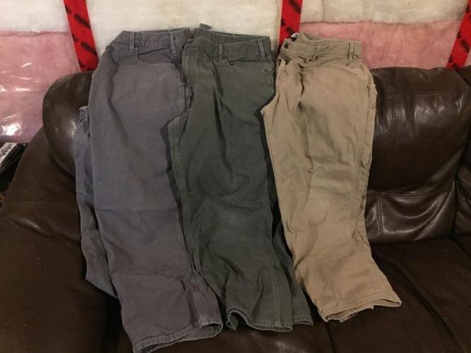 mens Carhartt work pants.