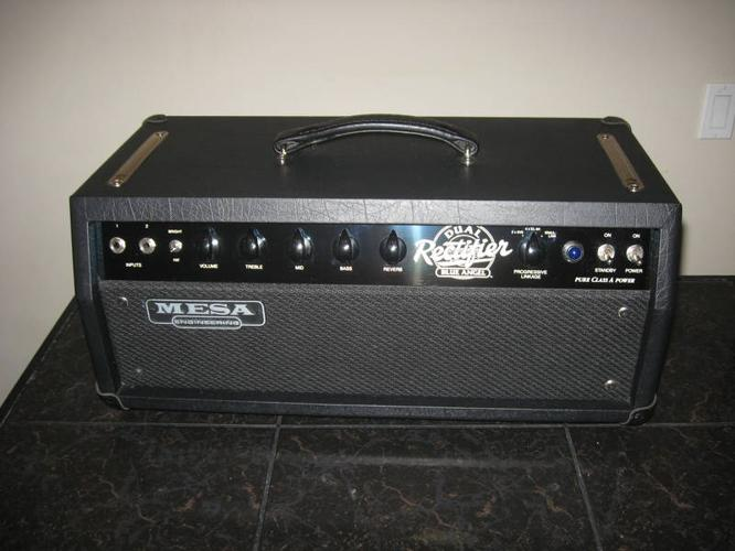 Mesa boogie blue angel head for sale in port moody for Mesa boogie blue angel