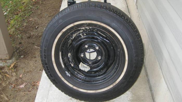 Michelin Tire with rim