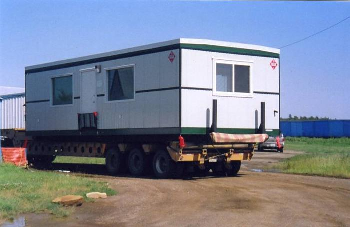 Mobile oilfield office trailer camp shack for sale for sale in