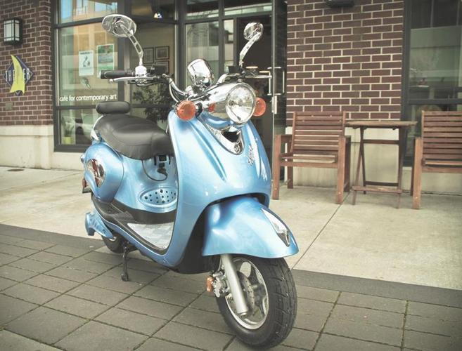 Motorino XPN Electric scooter No License required