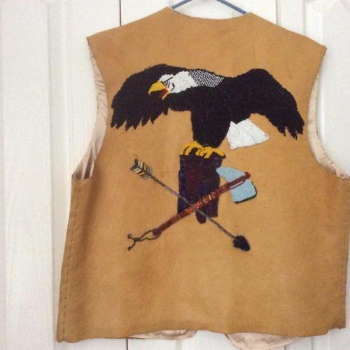 Native Indian Beaded Vest
