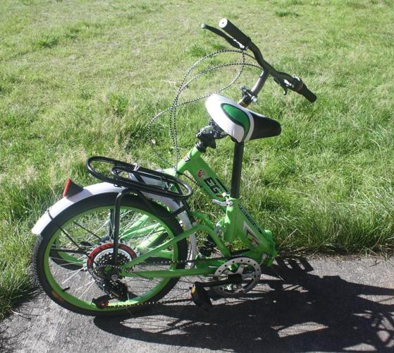 """New 16"""" 6 Speed Folding Bike, Foldable bicycle for young adults."""