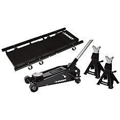 NEW IN THE BOX 3-Ton Garage Floor Jack Kit