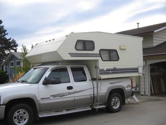 Okanagan 8 Ft Camper With Toilet For Sale In Penticton