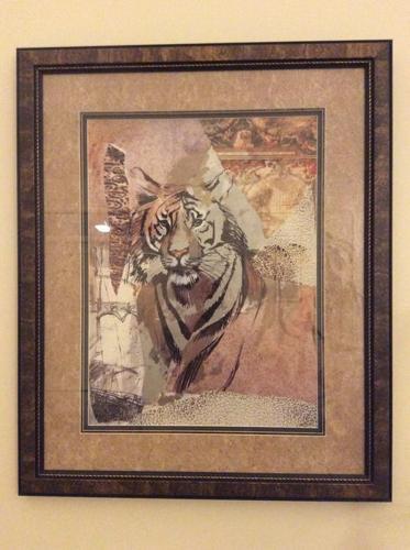 Pair of framed prints