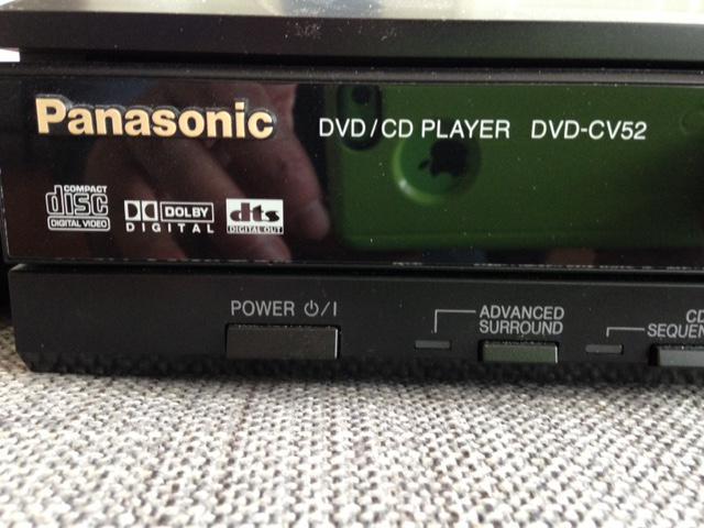 Panasonic 5 Disk DVD/CD Player