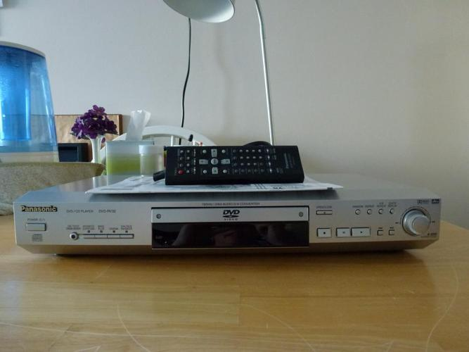 Panasonic DVD/CD player  DVD-RV32