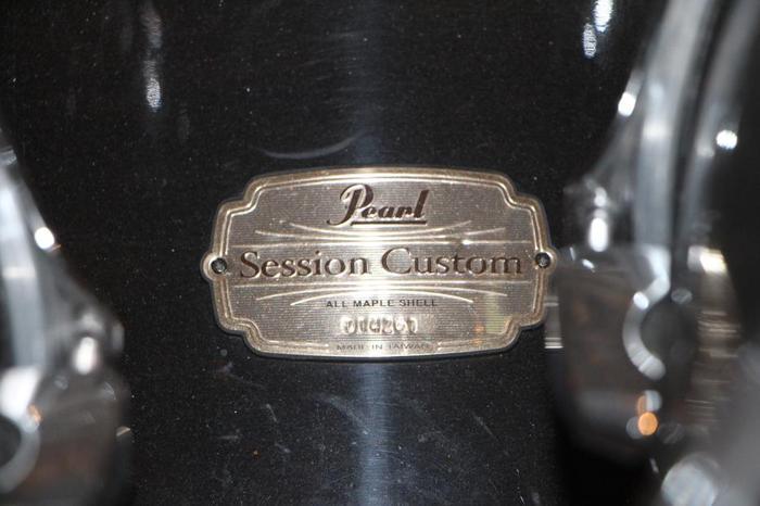 Pearl Session Custom kit w/ rack
