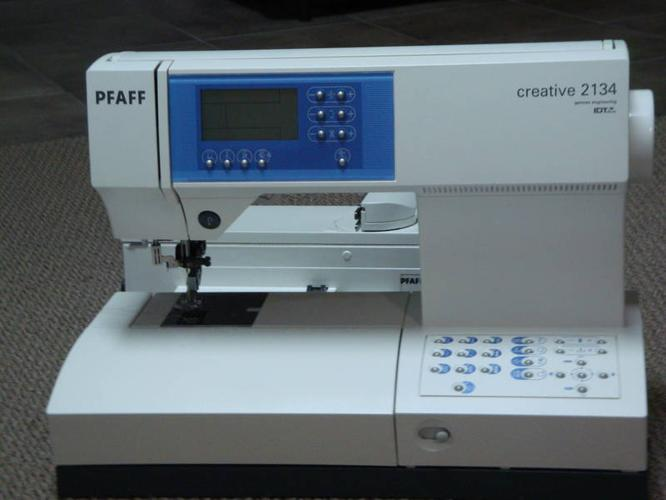 pfaff embroidery machine price