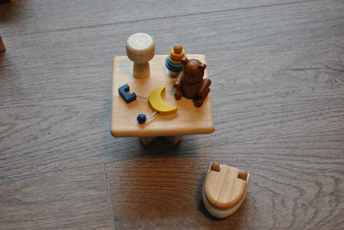 Plan Toys wooden doll house accessories