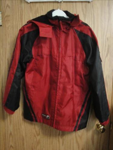 Polar Fleece-Lined Weather-Proof Jacket, by AlpineTek (men's medium)