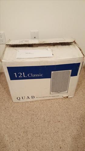 QUAD 12L Classic Bookshelf Speakers