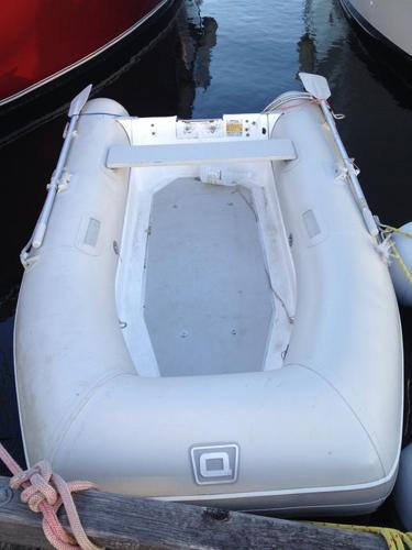 Quicksilver RIB fiberglass inflatable