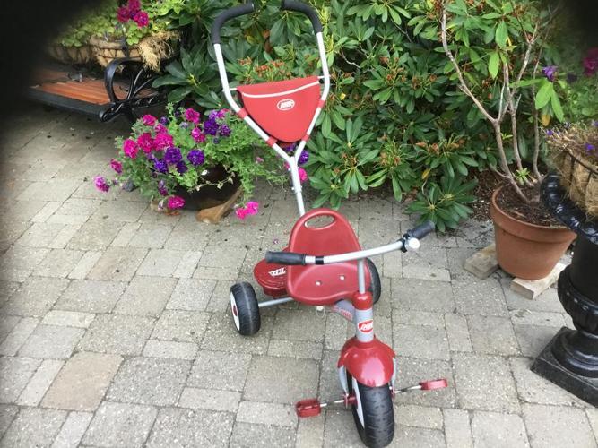 radio flyer stroller.... trike  to bike