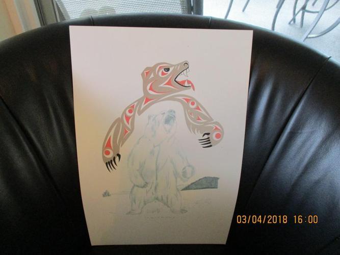 REDUCED Native Art Print