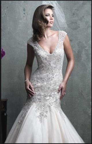 **REDUCED**NEVER WORN - Allure Bridals Couture C310