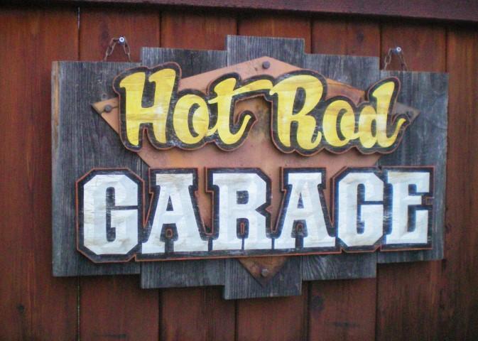 Retro and Vintage Style Garage Decor