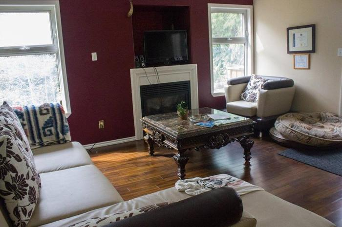Room in large private home on 1/2 acre