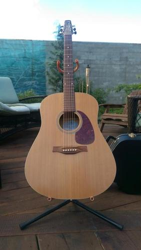 Seagull S6 Original with Slim neck with hardshell case
