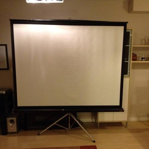 Sharp Projector Screen
