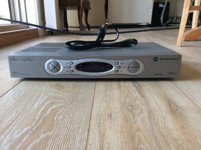 Shaw High Definition PVR - Motorola DCT3416