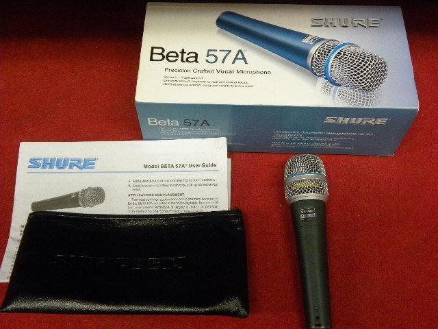 Shure Beta dynamic supercardioid microphone