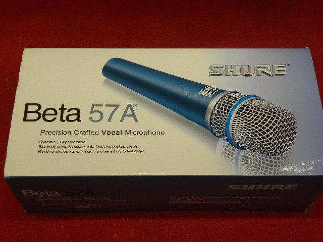 Shure Beta supercardioid lead vocal microphone