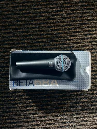 Shure Beta58a Handheld Vocal Microphone