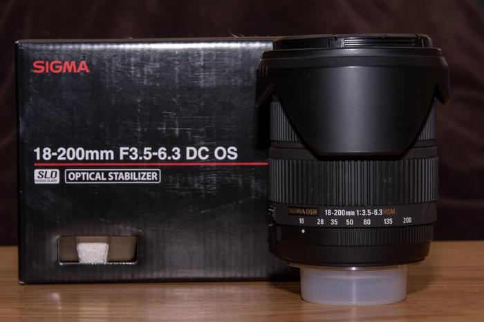 Sigma 18-200mm Nikon mount lens