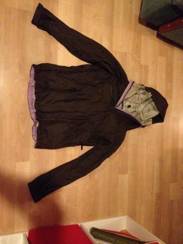 Small brown rain jacket