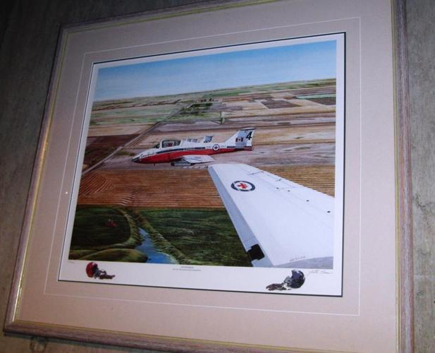 Snowbirds Air Demonstration Team - Signed Limited Edition Print