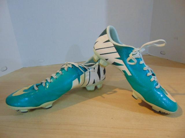 Soccer Shoes Cleats Men's Size 7 Nike Mercurial Teal