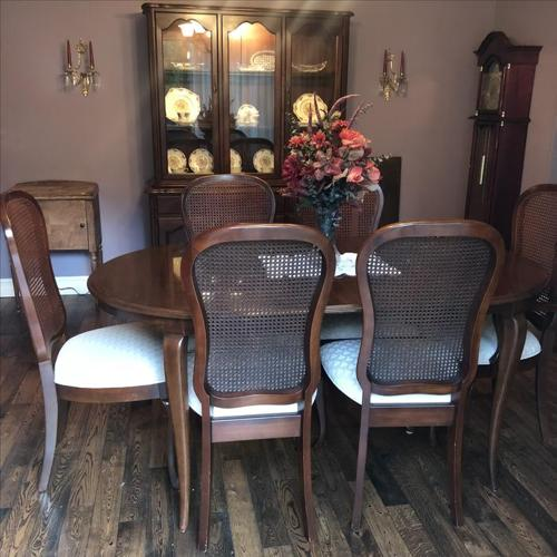 Solid Cherry Dining Room Set by Gibbard