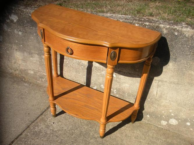 Solid Wood Hall Table