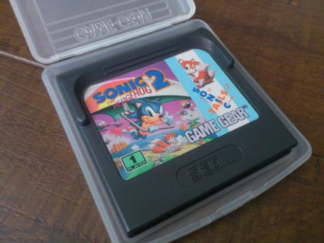 Sonic the Hedgehog 2 for Game Gear NEW PRICE