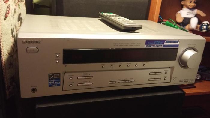 SONY 575 W HOME AMP/AM/FM/RECEIVER/MODEL STR-K750P