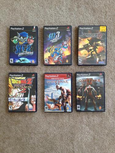 Sony Playstation 2 Combo - $30