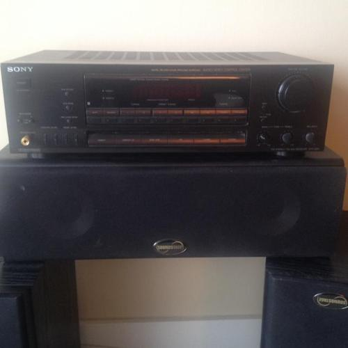 Sony Surround system with speakers