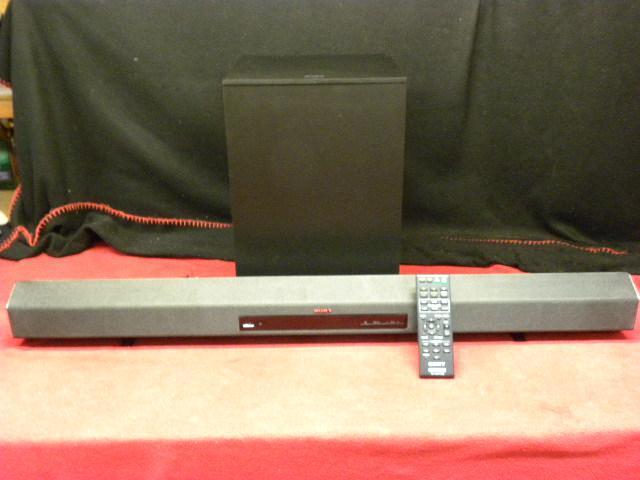 Sony  virtual surround sound bar with wireless sub woofer