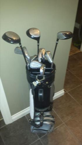 Spalding Molitor Mens right hand golf set with bag