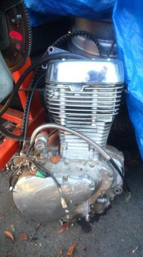 Suzuki 650 motor