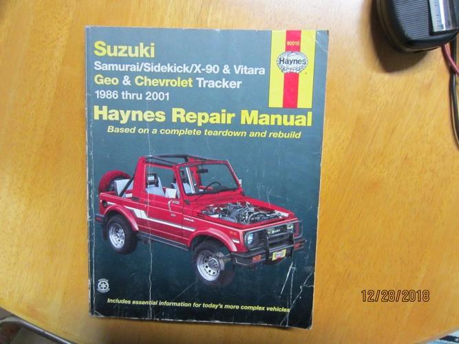 Suzuki   Hays Repair Manual