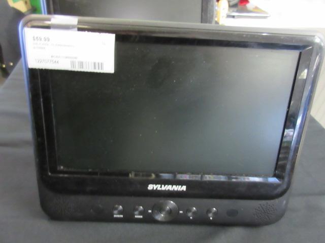 """SYLVANIA 9"""" Dual-Screen Portable DVD Player **MoneyMaxx**"""
