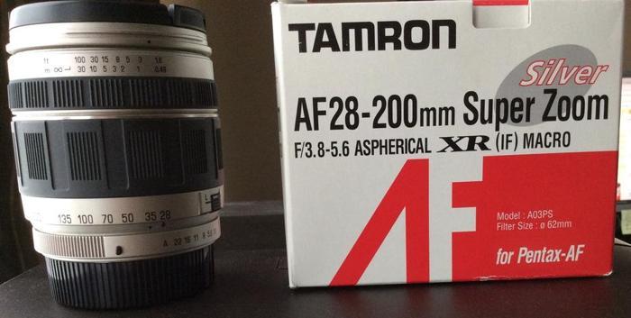 TAMRON 28-200 Zoom Pentax Mount