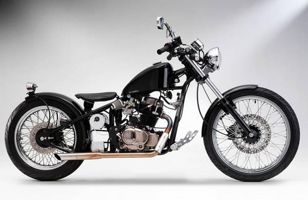 The Heist has the Classic hard-tail bobber style - $2499