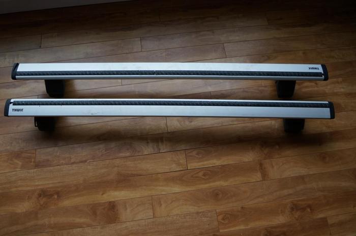 Thule Roof Rack - AeroBlade ARB53 + Rapid Traverse Footpack 480R