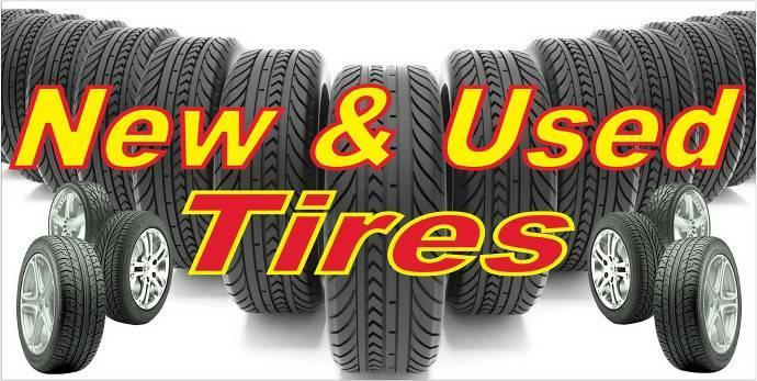 Tires, Tires, and, More Tires